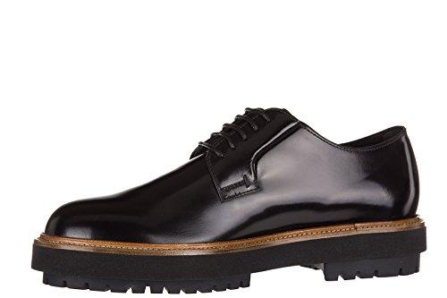 Tods Clásico Zapatos de Cordones Hombres EN Piel Nuevo Derby Fondo Fashion Extr