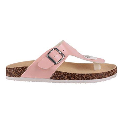 Para París Elara Material Vestir Sandalias De Sintético Rosa Mujer xppgRX1