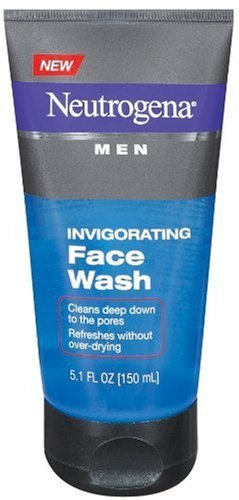 Neutrogena Men Invigorating Face Wash 5.1 Oz (3 Pack)