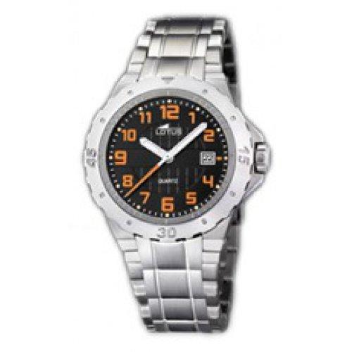 Lotus 15575/6 - Reloj analógico de mujer de cuarzo con correa de acero inoxidable