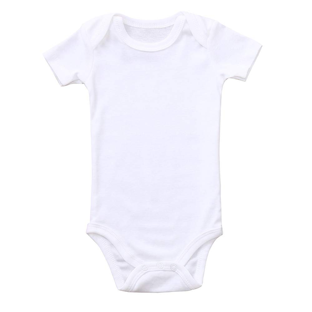 ALIKEEY Baby Clothes, Toddler Infant Baby and Boys Solid Romper Newborn Jumpsuit Bodysuit Clothes ALIKEEY01