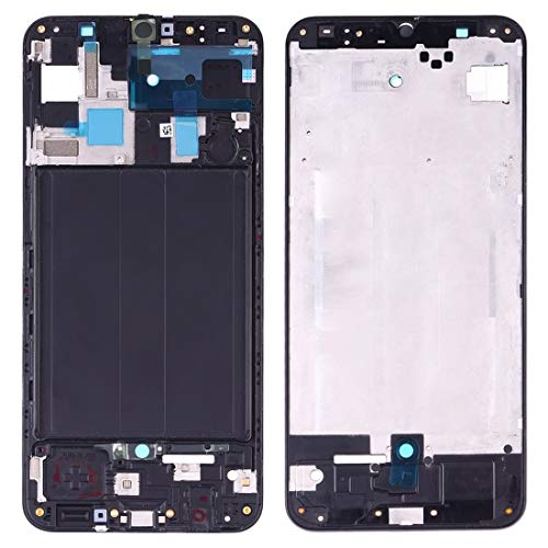 - WEIHONG Boutique Accessories Front Housing LCD Frame Bezel Plate for Galaxy A50 SM-A505F/DS, A505FN/DS, A505GN/DS, A505FM/DS, A505YN (Black)