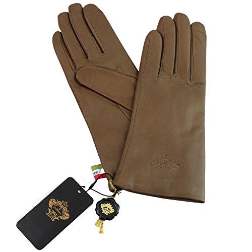 ダンス環境に優しい厚さ(オロビアンコ)OROBIANCO レディス手袋 ORL-1582MO Leather glove 羊革 ウール MOCHA サイズ:7.5(21cm) モカ 女性用 レザー