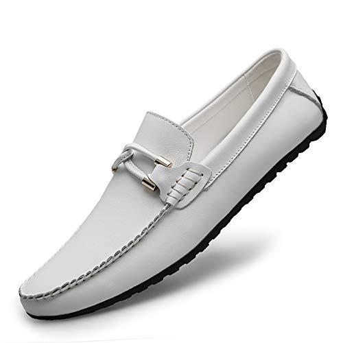 Xhd Para Blanco De shoes Mocasines Hombre Papel xxwq67fR