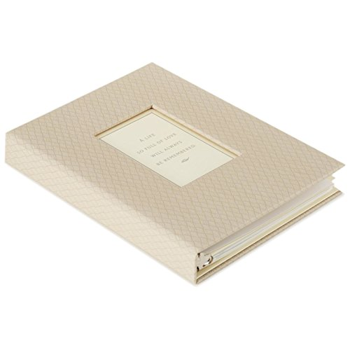 Hallmark A Life Remembered Memorial Guest Book]()