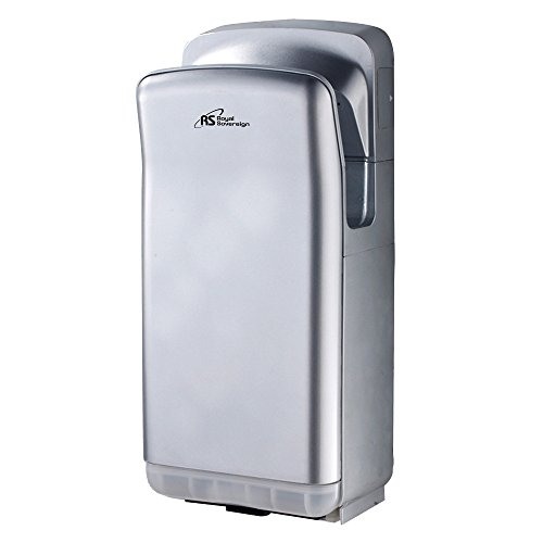 Touchless Hand Dryer (Royal Sovereign RTHD-461S Touchless Automatic Hand Dryer, Vertical, 15 seconds Operating)