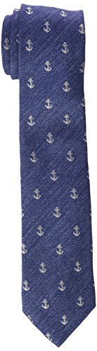 Scalpers Herren Krawatte Harbour Tie, Marineblau, Einheitsgröße