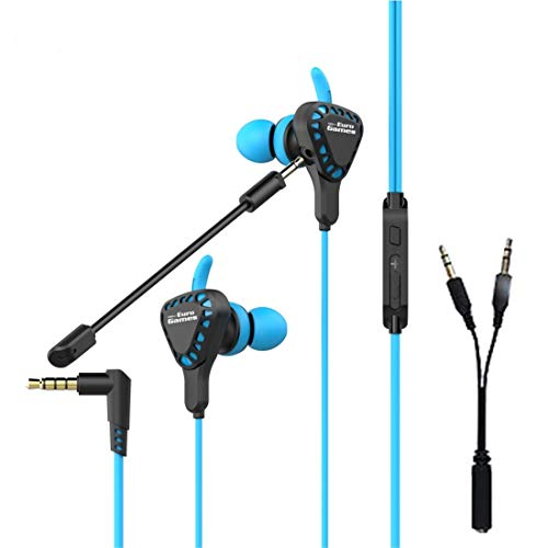 RPM Euro Games Gaming Headphones Earphones with MIC for PS4, Xbox One, Nintendo Switch, PC, Android and iOS Mobile Phones
