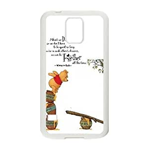 samsung galaxy s5 phone case White for winnie the pooh soundtrack - EERT3397043