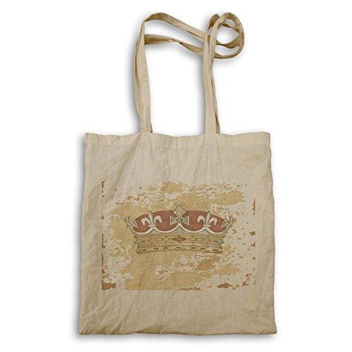 Krone König Lion Queen Art lustige Neuheit Tragetasche a625r