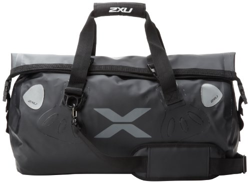 2XU Seamless Waterproof Bag, Black, One Size Fits All by 2XU