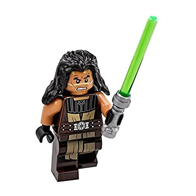 LEGO Star Wars Minifigure Quinlan VOS with Lightsaber (75151): Toys & Games