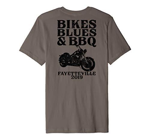 Ozarks Bikes Blues BBQ Biker Motorcycle Event Arkansas 2019 Premium T-Shirt (Best Of The Ozarks 2019)