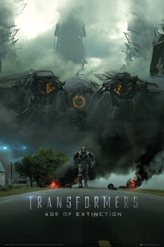 Transformers 4: Age Of Extinction 24x36 Poster Movie Art Print (Imax Teaser) ()
