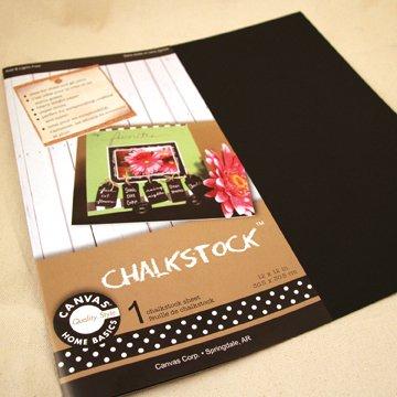 Chalkstock Paper 12''X12''-15 per pack
