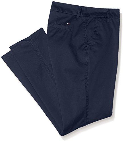Hilfiger Denim DW0DW00433, Pantalones Para Mujer Azul (Navy Blazer)