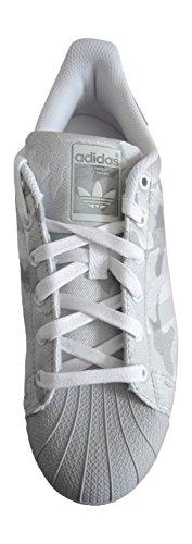 Adidas Originals Superster Weave Heren Schoenen Van De Trainerstennisschoenen Lsgogr / Owhite / Ftwwht Aq6744