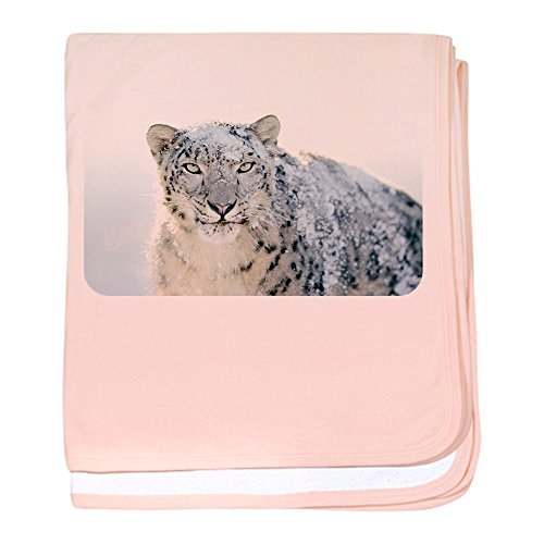 Price comparison product image Royal Lion Baby Blanket Snow Leopard HD - Petal Pink