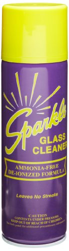 A J Funk & Co 20620 Sparkle Glass Cleaner, Original Purple Formula, 20-Ounce Aerosol Can (Case of - Case Glass Cans Cleaner 12