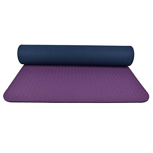 KHSKX-Unparfümiertes Yoga - Matte Fitness - Anti - Rutsch - Anfänger Unparfümiertes Kind Pad Sportliche Fitness - Matte 183  65Cm
