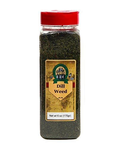 Spices Dill (International Spice Premium Gourmet Spices- DILL WEED: 6 oz)