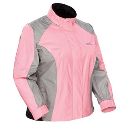 Sentinel Womens Rainsuit Jackets - Tourmaster Sentinel Womens Pink Rainsuit Jacket - X-Large Tall