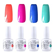 Vishine Nail Art UV LED Gel Polish Soak Off Manicure Varnish Nail Art Gift Kit C250