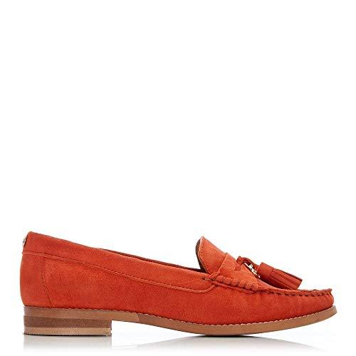 Orange Balletto Pelle Donna In Moda qxpXvIC