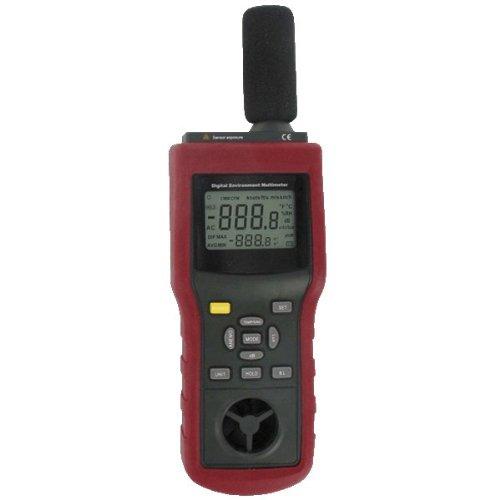 Dwyer® Dig Multi-Function Envir Meter, EMMA, Measures Sound, Monitors Humidity, Temp, Air Velocity