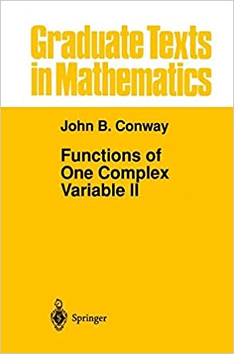 Functions Of One Complex Variable II (Graduate Texts In Mathematics, Vol. 159) Books Pdf File