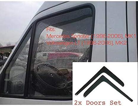 1996-2006 Am/énagement Int/érieur Lot de 2 d/éflecteurs dair pour Mercedes Benz Sprinter Mk2 V W LT Mk1