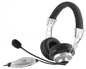 NGS Vox400 USB - Auriculares con micrófono y conexión USB