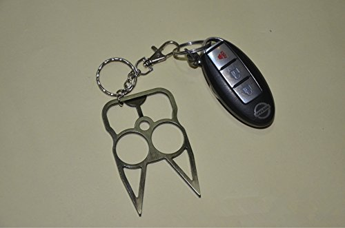 Anhua Women S Self Defense Metal Cat Self Defense Keychain Key Ring Holder Personal Prodection Tool Brown Buy Online In Japan The Cat Products In Japan See Prices Reviews And Free