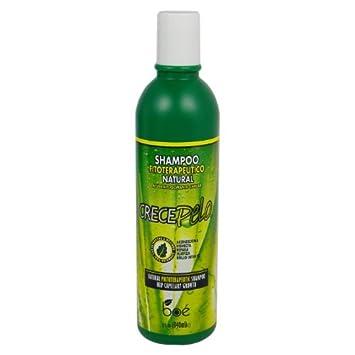 Crece Pelo Shampoo Fitoterapeutico Natural (Natural Phitoterapeutic Shampoo) 13.2 Fl Oz (370 ml