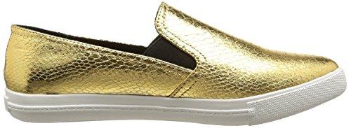 Steve Madden Vicktori Damen Funktionsschuh vergoldet (Gold snake)