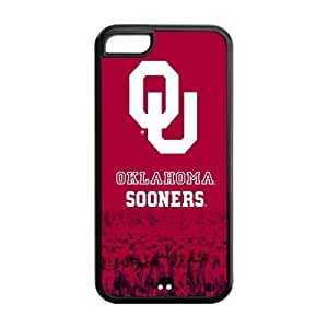 NCAA Oklahoma Sooners Logo Red Iphone ipod touch4 Hard Case Cover at NewOne