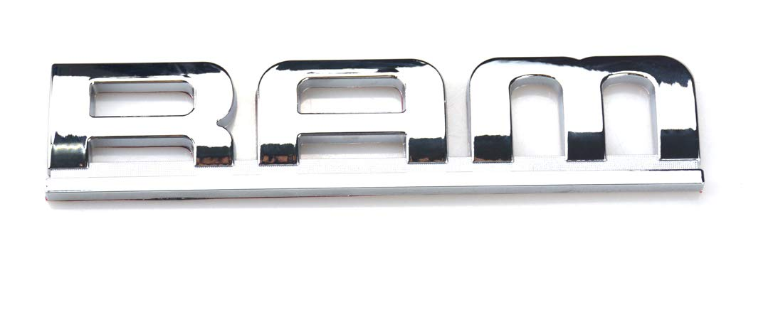 Zcardon 1x RAM 2500 Heavy Duty Emblem 3D ABS Stickers Nameplates Auto Emblem Replacement for RAM 2500 Aruisi