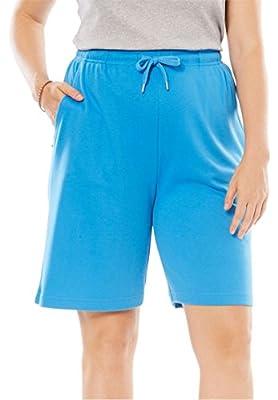 Women's Plus Size Sport Knit Short