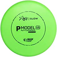 Prodigy Discs Ace Line Glow Base Grip P Model US Putter Golf Disc [Colors May Vary]