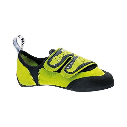 Edelrid Niños Crocy Zapatos de escalada verde neón