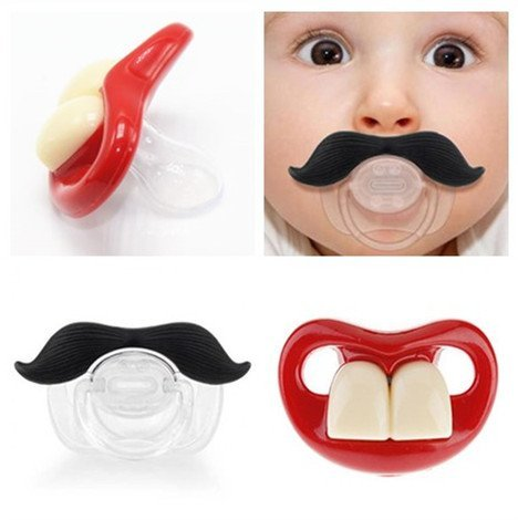 UPC 751570953967, OPCC Baby Funny Dummy Prank Pacifier Novelty Teeth Children Lip Soother Nipple Cute