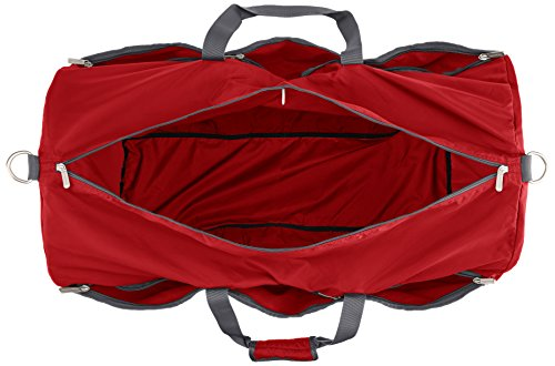AmazonBasics Large Duffel Bag, Red