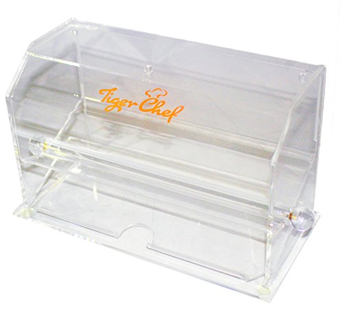 Tiger Chef Top Quality Clear Acrylic Pencil Dispenser includes 50 Assorted Designs Pencils