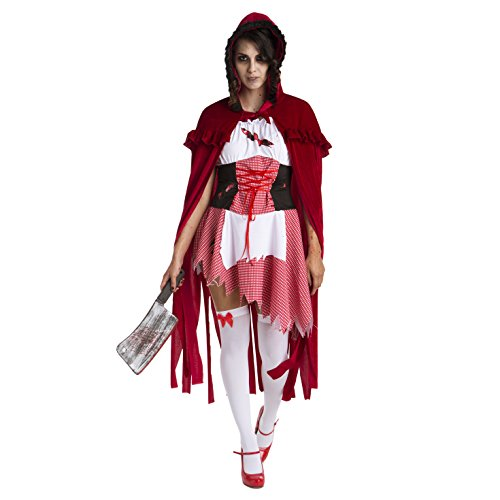 Womens Little Red Riding Hood Storybook Costume (Story Behind Halloween Day)