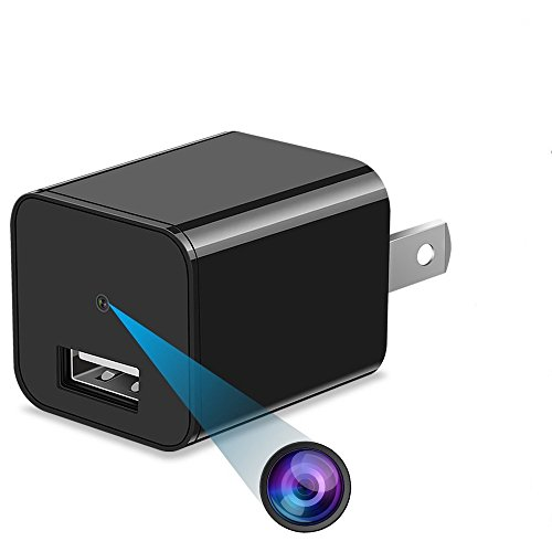 Safari Special Edition 1080P HD USB Wall Charger Hidden Spy Camera For Use In Security Surveillance or as a Mini Nanny Cam