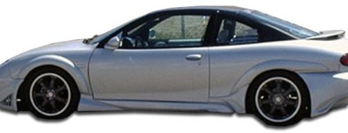 Duraflex Replacement for 1995-2002 Pontiac Sunfire 2DR Millenium Wide Body Rear Fender Flares - 2 Piece