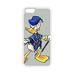 Donald Duck iPhone 6 Plus 5.5 Inch Cell Phone Case White Ysuae