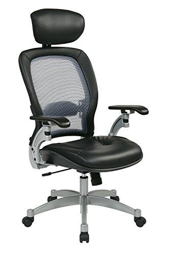OSP36806 - Space Light Air Grid Executive Chair w/Headrest Air Grid Fabric Chair