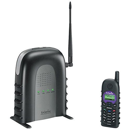 ENGENIUS DuraFon-SIP SYSTEM DuraFon SIP Long-Range Cordless Telephone System with 1 Base Station & 1 Handset