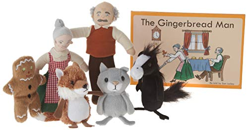 The Puppet Company Traditional Story Sets The Gingerbread Man Book and Finger Puppets Set]()